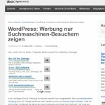"Wordpress-Plugin ""Landingsites"" unter WordPress 3.5"